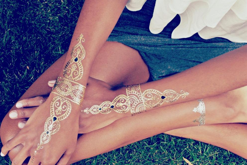 Tatouage éphémère, tendance de l'été 2015